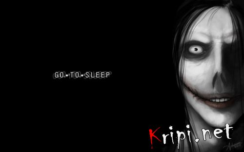 Джеф Go to sleep... крипи